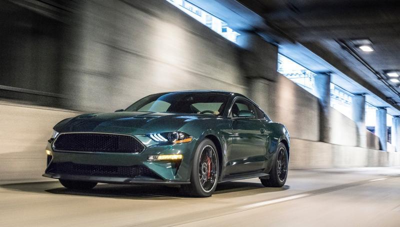 a Ford Mustang Bullitt
