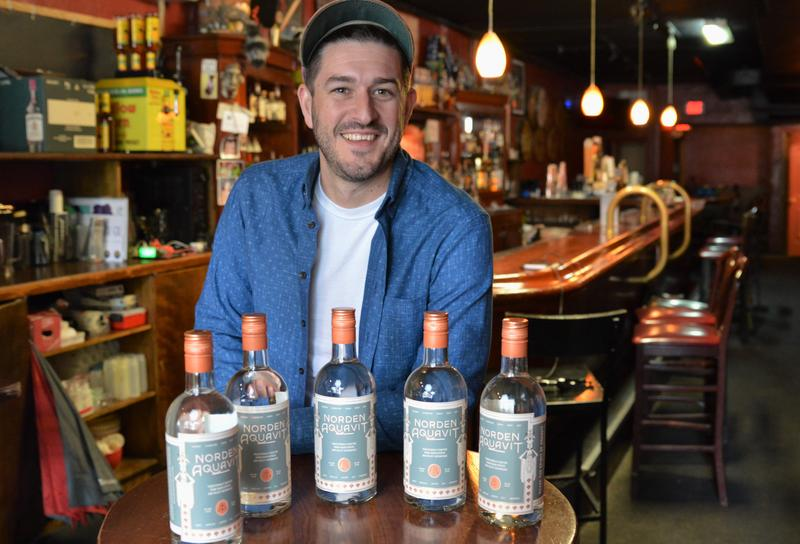 Robyn Cleveland is the co-owner and head distiller of Norden Aquavit.