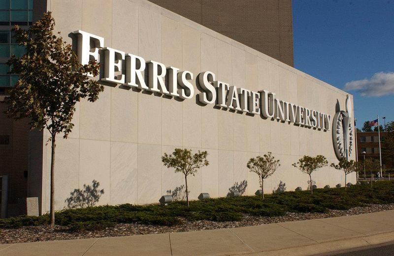 ferris state university sign