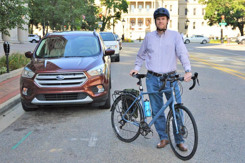 John Lindenmayer is the Executive Director of the League of Michigan Bicyclists.