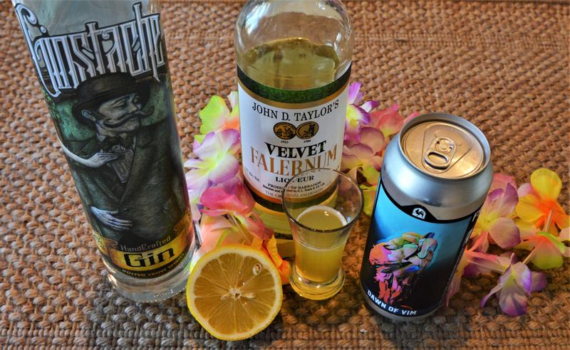 This Tiki cocktail includes a Michigan spirit and a Michigan beer.