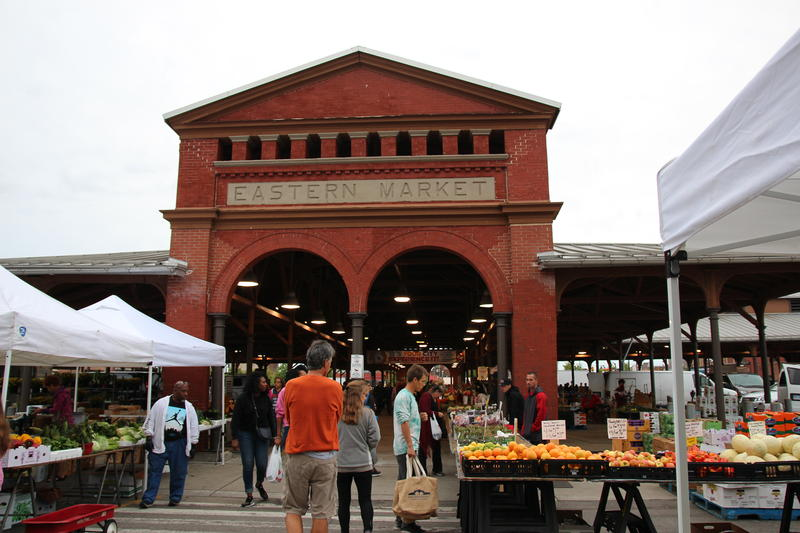 exterior of eastern market