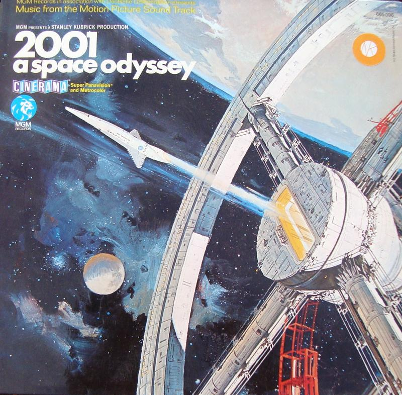 album cover of space odyssey soundtrack