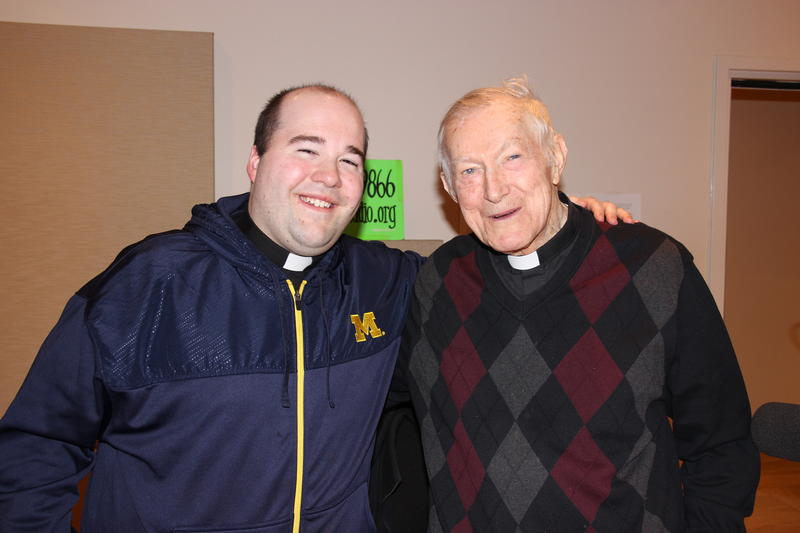 Father Jim Houbeck and Father Ed Prus