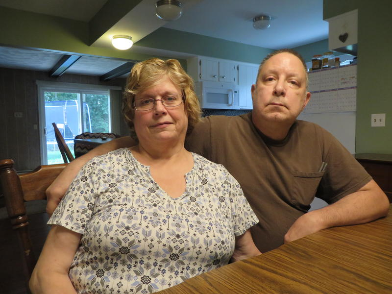 Linda and Greg Kolich live in Cooper Township. They're on a private well. They're drinking bottled water until they know whether their water is safe to drink.