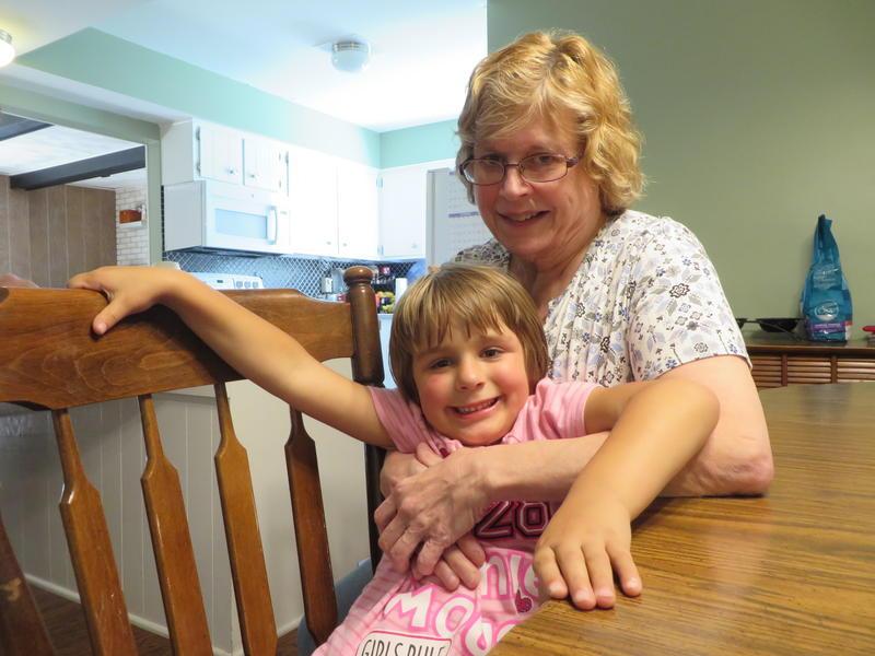 Linda Kolich with her daughter, Renee.