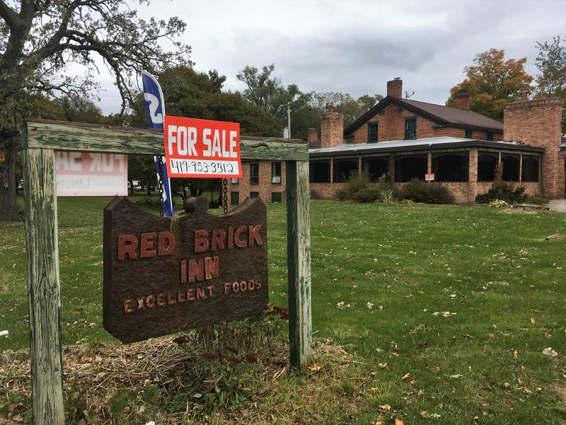 The Red Brick Inn in Allegan County is for sale, ghosts included