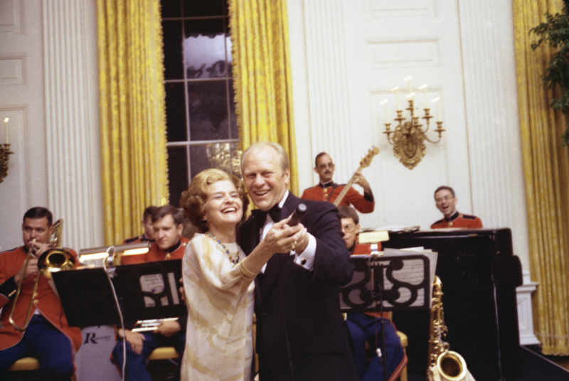 betty ford dancing with husband