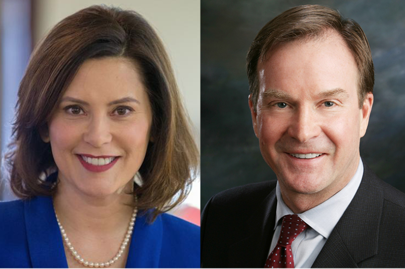gretchen whitmer and bill schuette