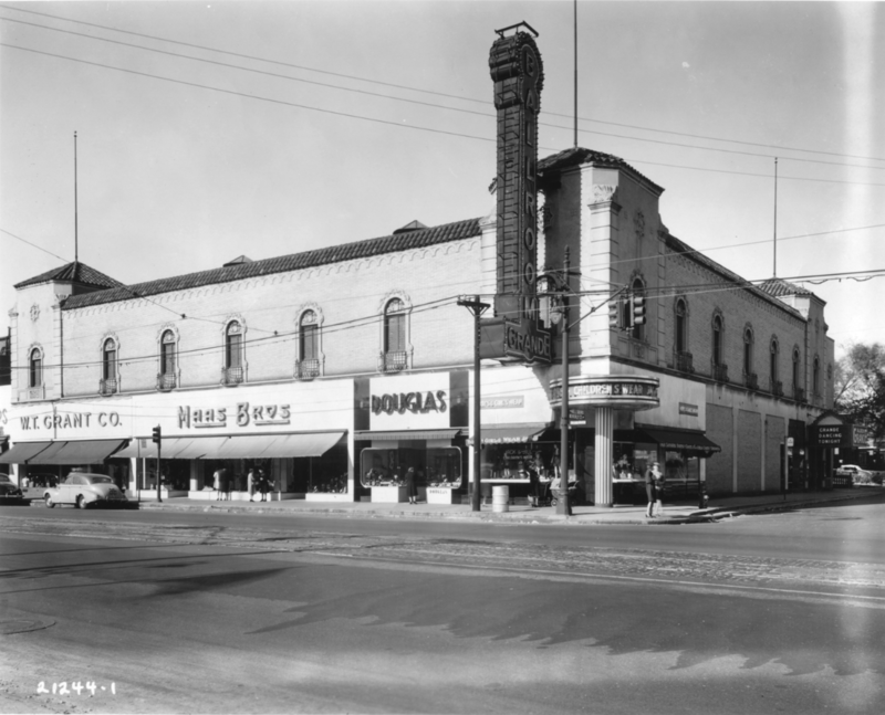 Old image of Detroit's Grande Ballroom
