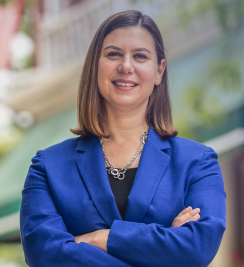 Elissa Slotkin (D) is running for Michigan's 8th Congressional District against incumbent Mike Bishop (R).