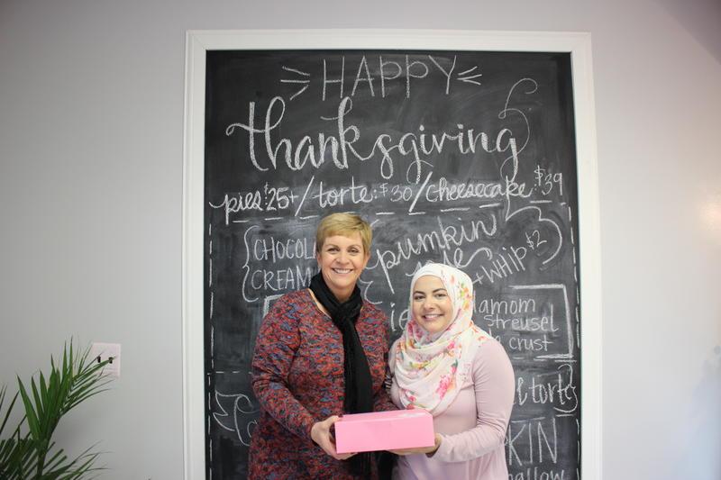 Cynthia Canty and Amanda Saab at Butter Bear Shop