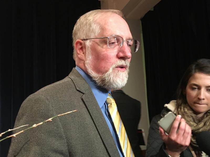 Robert Delaney wrote a report warning about PFAS contamination in 2012. He says no one at the Michigan Department of Environmental Quality responded until last year.