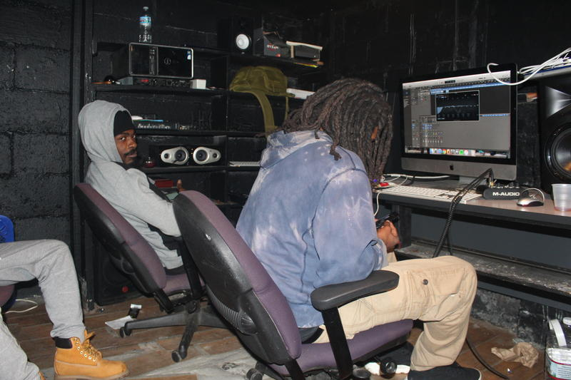 Jaye Green stays in the studio either engineering his music or someone else's, plus he teaches youth and other developing artists how to engineer their own music.