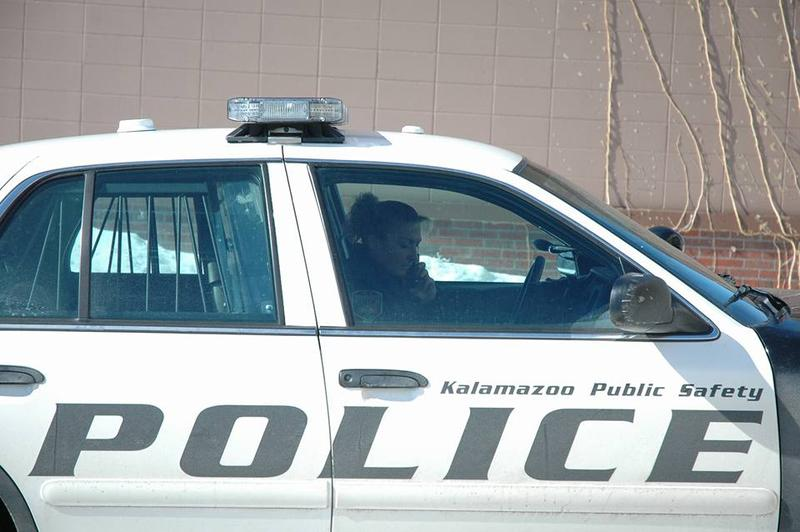 Kalamazoo police car