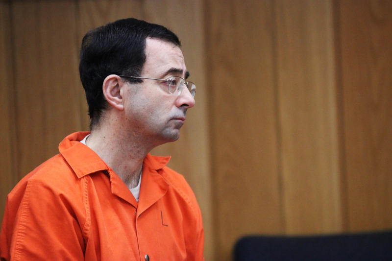 Larry Nassar at Eaton County sentencing