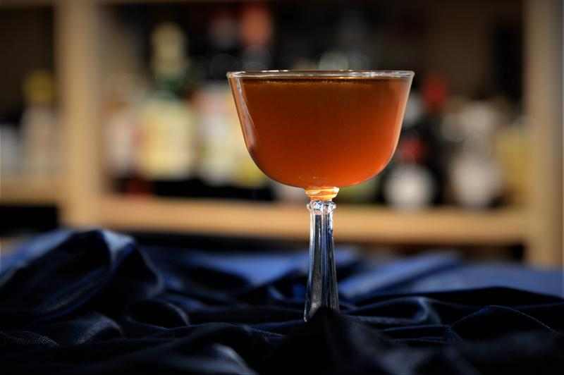 'A Grand Night' cocktail features a coffee amaro from Grand Rapids.