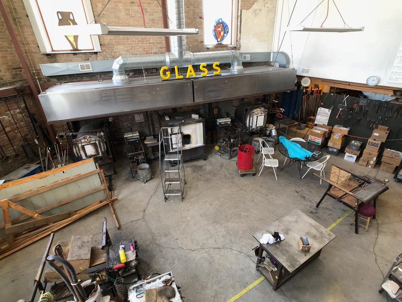 Water Street Glassworks workshop