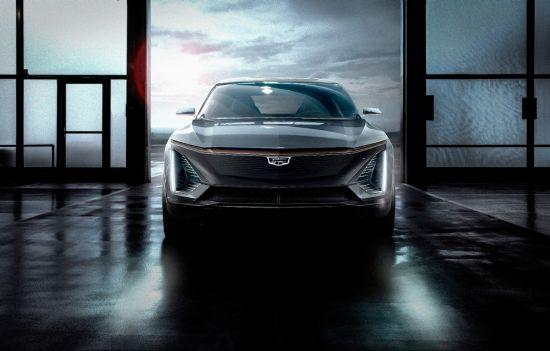 Gm Introduces Cadillac Concept Ev And A Gasoline Powered Suv
