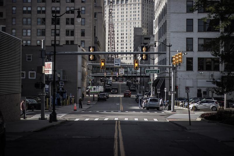 Detroit street.