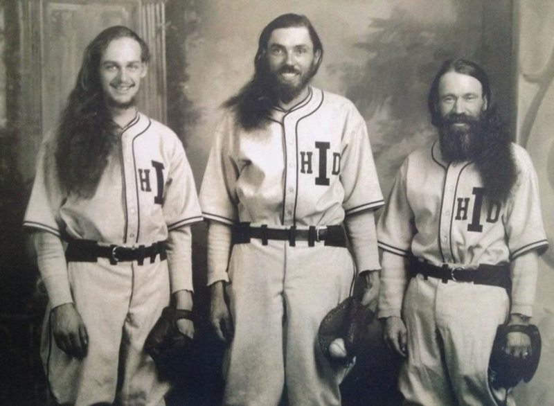 Members of the House of David baseball team