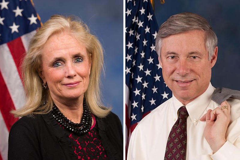 Debbie Dingell and Fred Upton