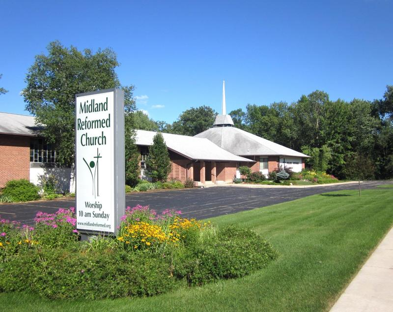 picture of Midland Reformed Church.