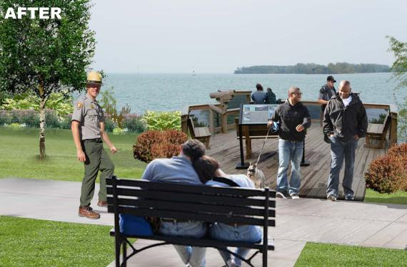 A glimpse of the disturbing Belle Isle to come - from today's press materials about the proposed Belle Isle agreement.