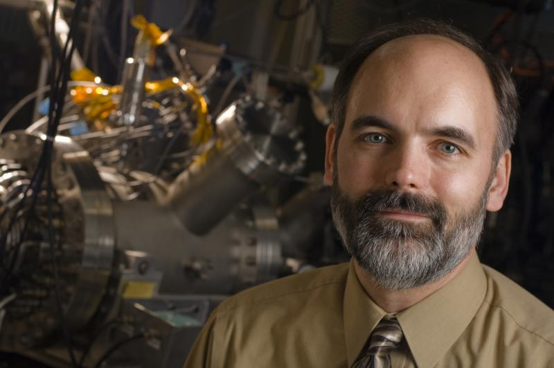 Brad Sherrill, chief scientist of MSU's Facility for Rare Isotope Beams