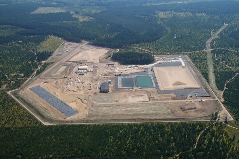 The Kennecott Eagle Mine in September of 2011.