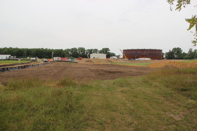 Enbridge's terminal and pumping station in Stockbridge, Michigan. They are expanding this facility.