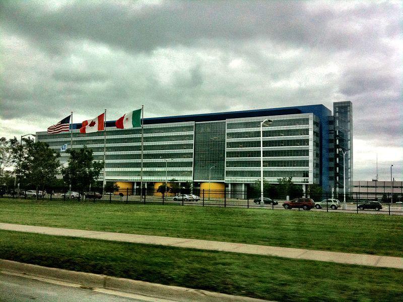 The GM Tech Center in Warren.
