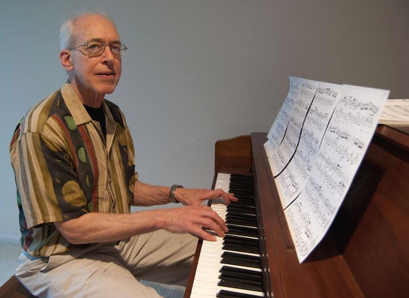 Ernie Caviani lives in Ann Arbor. He's a piano tuner and technician. He has been tuning pianos for 45 years.
