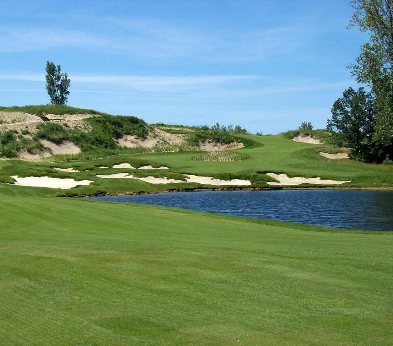 Harbor Shores is a Jack Nicklaus designed gold course in Benton Harbor.