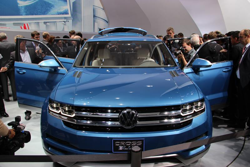 The VW CrossBlue concept.