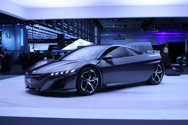 And they unveil the new Acura NSX Concept.