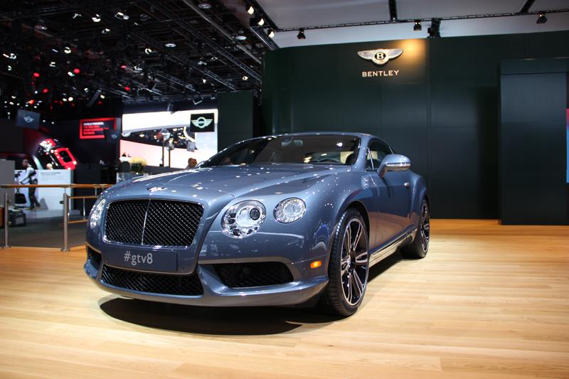 At the Bentley display.