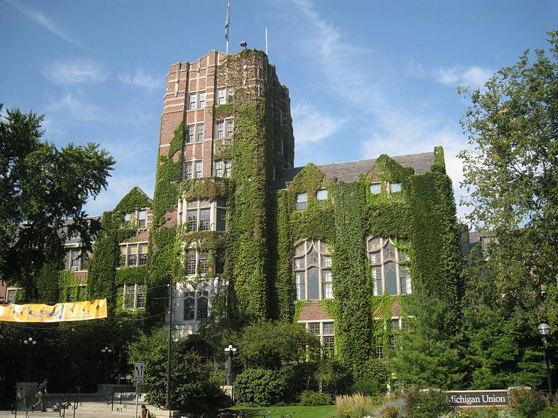 The Michigan Union on UM's Central Campus.