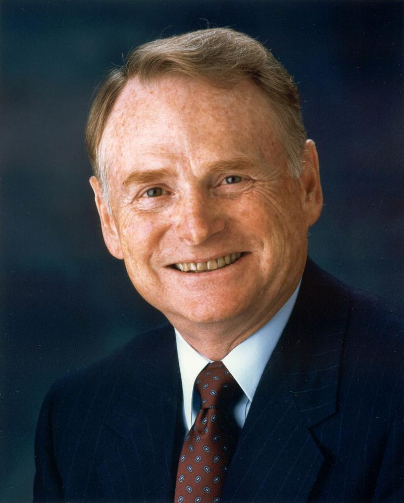 "Harold ""Red"" Poling, former Ford Motor Company Chairman and CEO."