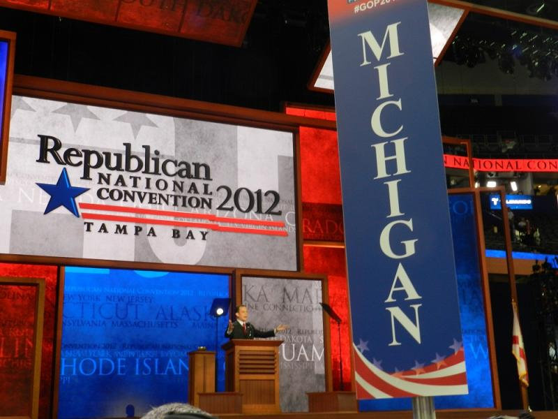 At the Republican National Convention.