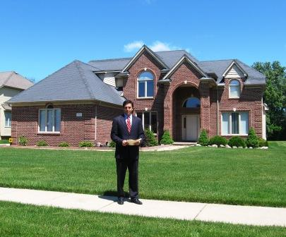 Oakland County Treasurer Andrew Meisner says homes like this one, sold in foreclosure by Fannie Mae and Freddie Mac, are costing the state and county millions in lost tax revenues.