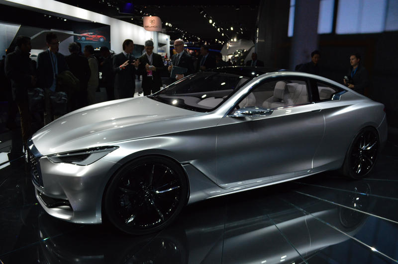 The Q60 has been praised for its sleek design.