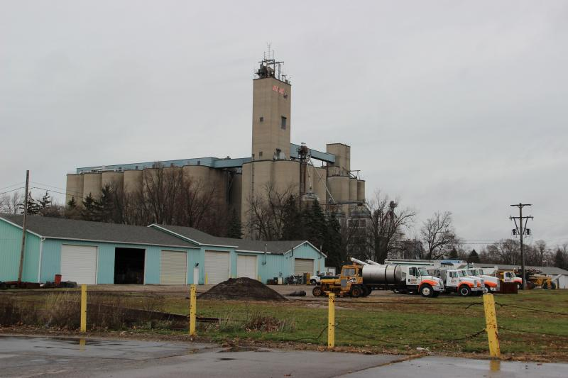 Before the windmills, the town was known for its grain elevator.