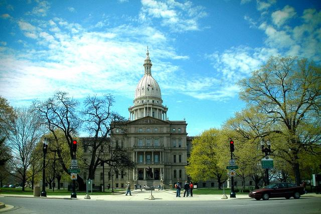 Michigan's Capitol in Lansing.