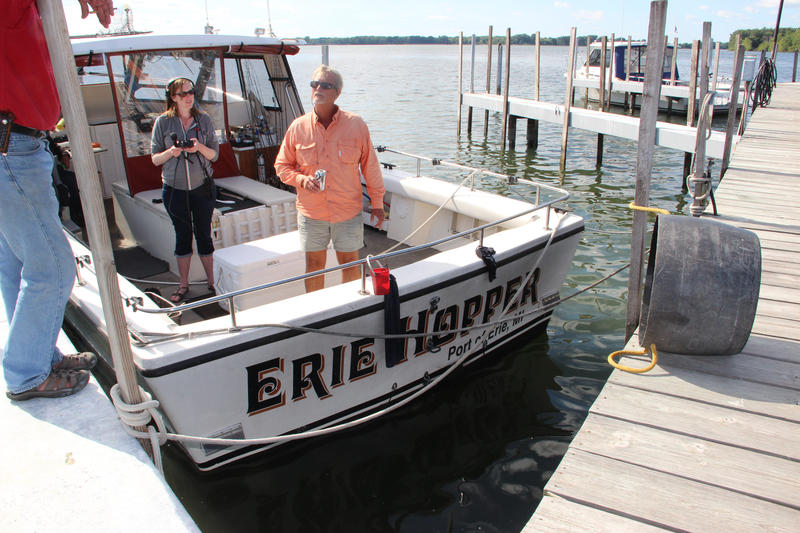 Paul Pacholski is the Vice President of the Lake Erie Charter Boat Association.