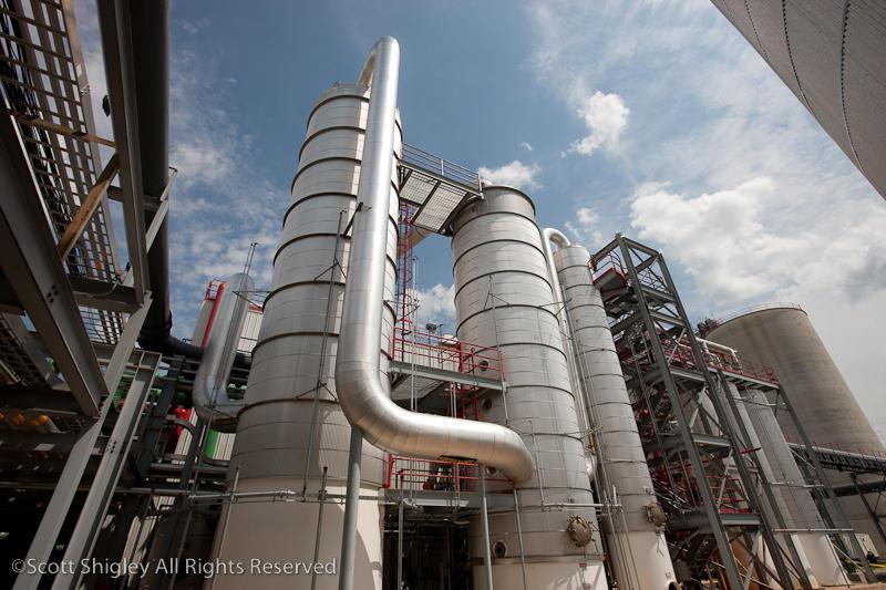 The Carbon Green BioEnergy Refinery in Lake Odessa, Michigan.