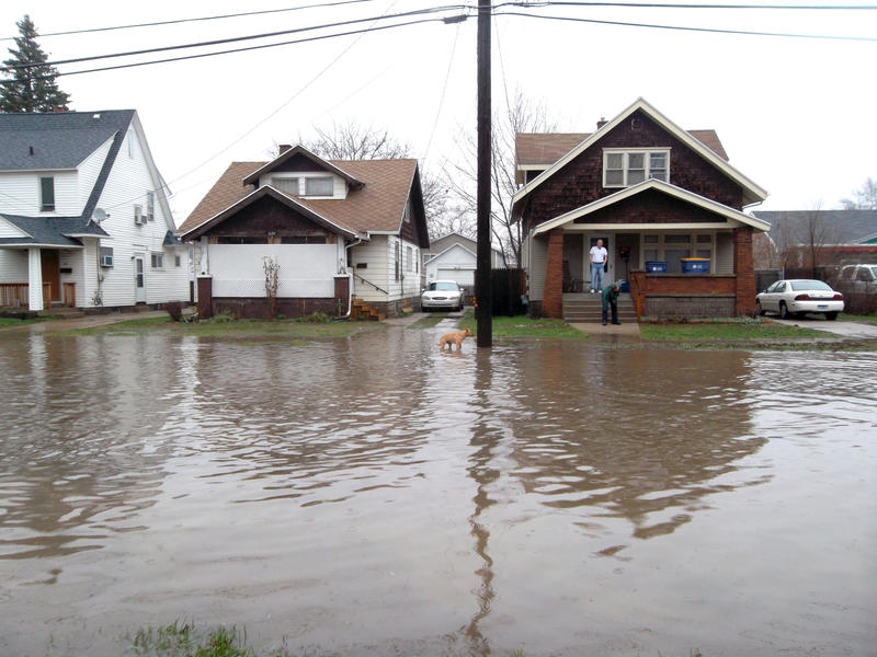 Flooding last year in Grand Rapids.