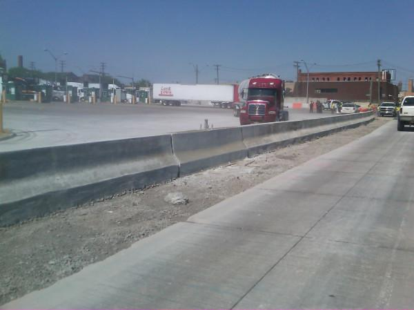 "MDOT tweets ""Keeping US-bound trucks off local streets is whole point of the #Gateway project - and it's starting today. #MDOT"""