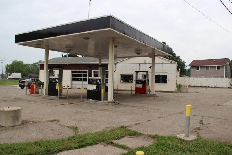 And many of them are waiting to be cleaned up. In 2007, Logan's Gas and Deli lost 8,000 gallons of gas underground. The owners walked away, and taxpayers were left to clean up the mess.