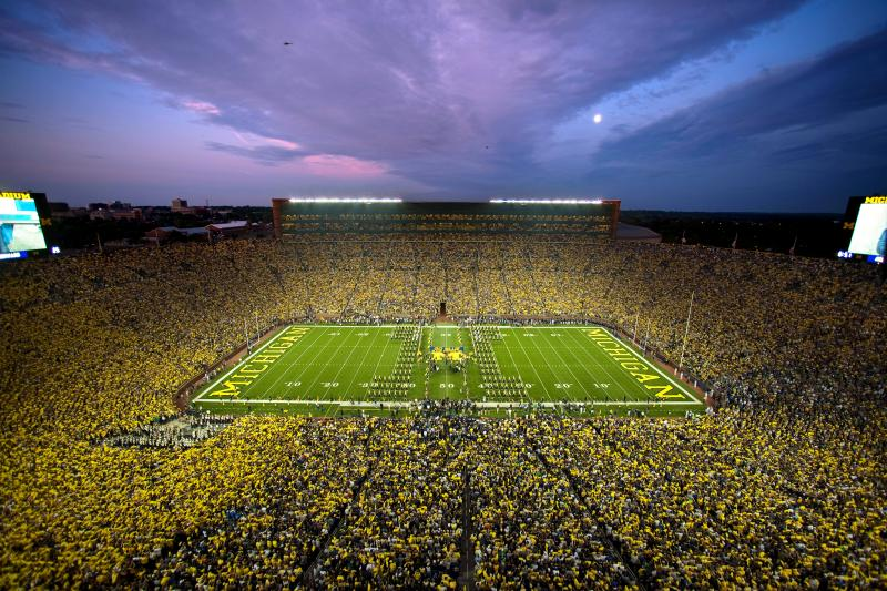 Michigan Stadium.